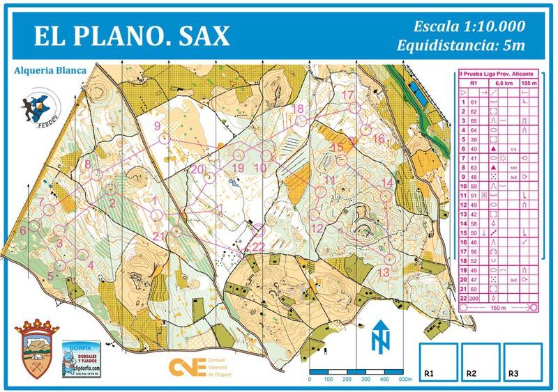 Mapas orientacion y deportes - Orientacion de un piso ...